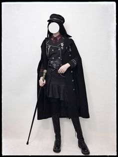 your highness -the vow- Edgy Outfits, Cool Outfits, Fashion Outfits, Real Costumes, Female Armor, Gothic Lolita Fashion, Lolita Dress, Military Fashion, School Uniform Fashion