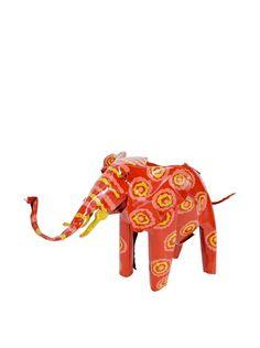 Mbare Painted Tin Elephant, http://www.myhabit.com/redirect/ref=qd_sw_dp_pi_li?url=http%3A%2F%2Fwww.myhabit.com%2Fdp%2FB00IQ5VQ2M%3Frefcust%3DNDD5OYA47OJJQ53B5NRDCSCV6M