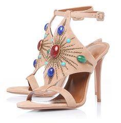 Amy Q Women Summer Rivets Open Toe Buckle Strap Sandals High Heels For Women Party Dress Shoes *** Check out the image by visiting the link.