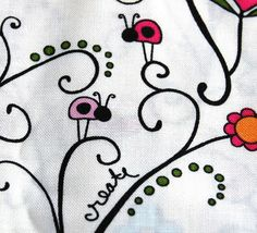 I LOVE this fabric for a little girls diapers