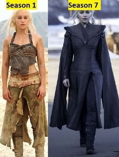 Game Of Thrones Characters: Emilia Clarke (Daenerys Targaryen) Then And Now Arte Game Of Thrones, Game Of Thrones Cosplay, Game Of Thrones Costumes, Game Of Thrones Cast, Game Of Thrones Funny, Game Of Thrones Characters, Actors Then And Now, Then And Now Photos, Emilia Clarke Daenerys Targaryen