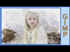 Gimp: Watercolor Portrait With Standard Brushes in Gimp - YouTube