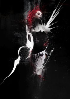 Create Abstract Dark Photo Manipulation with Splatter Brushes in Photoshop - PSD Vault