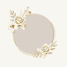 Set of nature and plant logo vectors Vector Logo Floral, Fond Design, Flower Graphic Design, Framed Wallpaper, Instagram Frame, Picture Logo, Badge Design, Logo Background, Free Logo