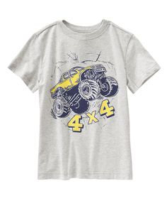 Monster Truck Tee at Crazy 8 Boys Summer Outfits, Summer Boy, Baby Boy Outfits, Kids Outfits, Kids Pjs, Kids Clothes Boys, Polo Shirt Outfits, Monster Trucks, Kids Wardrobe