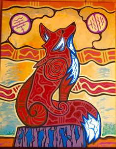Like the work Native American Pictures, Native American Artwork, Native American Artists, American Indian Art, Kunst Der Aborigines, Woodland Art, Haida Art, Arte Popular, Indigenous Art