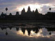 Angkor Wat at dawn....