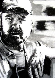 Bobby Singer by ~mingusyatina Supernatural Bobby, Jessica Hayes, Bobby Singer, Photo Editor, Artwork, Work Of Art, Auguste Rodin Artwork, Artworks, Illustrators