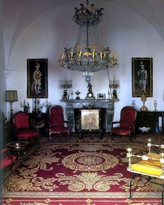 Casa Moreno de la Cova. Sala del Piano. Sevilla