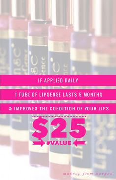 LipSense Lip Color Value LipSense Distributor 197061 www.SeneGence.com/TimelessEleganceByTara