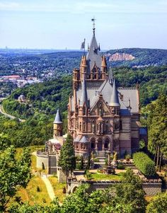 German castle. I want to visit a castle like this.
