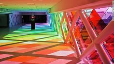 Miami International Airport's Rainbow-Light Makeover