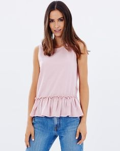 Buy Rima Frill Panel Tank by Atmos&Here online at THE ICONIC. Free and fast delivery to Australia and New Zealand.