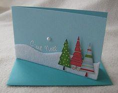 CartoScrap - Le Blog - Novembre 2009 : La carterie de Noël de L@ure: