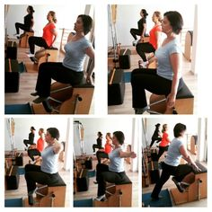 sole pilates chair footwork