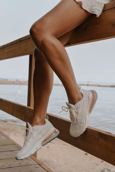 The New Sneaker To Style (Not Your Standard) New Sneakers, Girls Sneakers, Girls Shoes, Sneakers Fashion, Presto Sneakers, White Nike Shoes, Tennis Shoes Outfit, Hype Shoes, Everyday Shoes