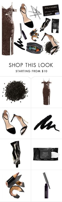 """""""Chic Velvet"""" by xxayshaxx ❤ liked on Polyvore featuring Sans Souci, Zara, Aesop, Kat Von D, Bobbi Brown Cosmetics, By Terry and Travelon"""