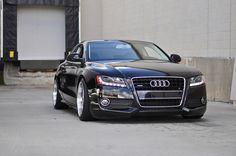 Audi Non S-Line w/ Rieger front & Votex Sides. Auto Wheels, Audi S6, Aftermarket Wheels, Dream Garage, Vroom Vroom, Maserati, A5, Dream Cars, Super Cars