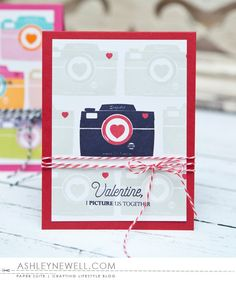 I Picture Us Together Card by Ashley Cannon Newell for Papertrey Ink (December 2015)