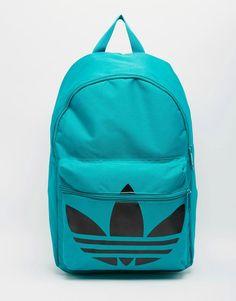 De sejeste adidas Originals Classic Backpack - Green adidas Originals Rygsække til Herrer i dejlige materialer