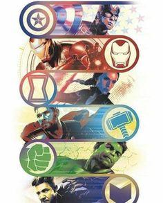 'Avengers: Endgame' Promo Art Reveals New Looks for Captain Marvel, Ronin, Thanos, and More - Marvel Comics Fan Marvel Avengers, Captain Marvel, Marvel Funny, Marvel Art, Marvel Memes, Thanos Marvel, New Avengers Game, Captain America Art, Marvel Films