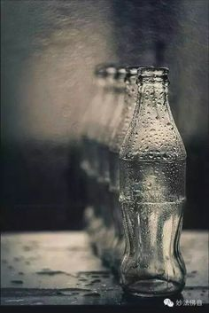 Element: Space This picture uses space by creating a three-dimensional depth with the row of bottles.