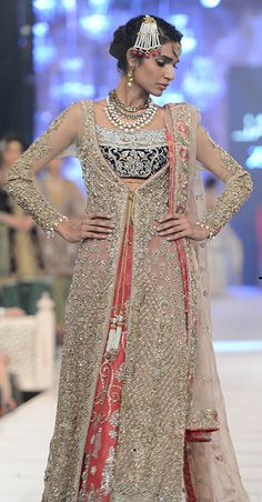 Pakistani designer dress by nicky nina