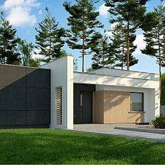 Dom parterowy o powierzchni 90 m.kw., z zadaszonym tarasem i 3 sypialniami...