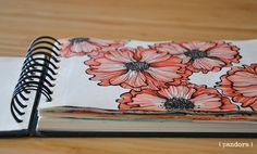 sketchbook by pandora creazioni * inspired by @alisaburke