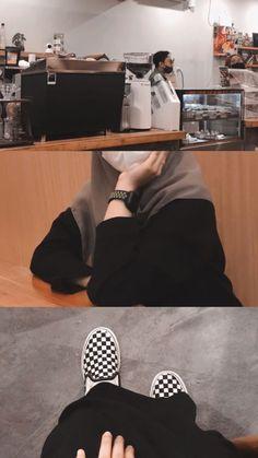 Stylish Hijab, Casual Hijab Outfit, Ootd Hijab, Feeds Instagram, Foto Instagram, Creative Instagram Photo Ideas, Insta Photo Ideas, Bebe Love, Hijab Style Tutorial