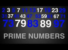 ▶ Prime Numbers Rap Typography (Math) - YouTube
