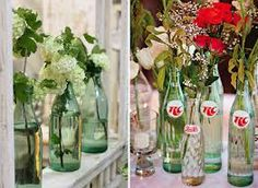 wedding decorations coke bottle windmill - Google Search