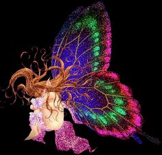 Animated Butterfly Glitter GIFs and Animated Images. Butterfly Images, Butterfly Baby, Butterfly Wings, Glitter Gif, Fairy Pictures, Glitter Graphics, Fairy Art, Beautiful Butterflies, Fantasy Art