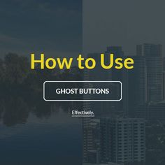 Ghost buttons are one of the hot web design trends nowadays. Learn how to use ghost buttons effectively for UX and optimization.