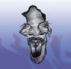 #snoopdogg Snoop Dogg, Caricature, Skull, Art, Art Background, Kunst, Caricatures, Performing Arts, Skulls