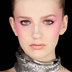 Lisa Eldridge Make Up | Video | Sculpted Blush and Lash Overload - Editorial Trend Makeup Look