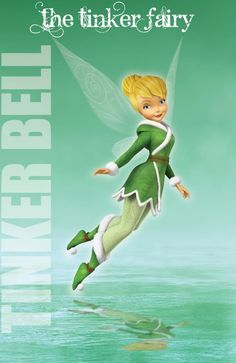Winter Tinkerbell, My favorite look for her!