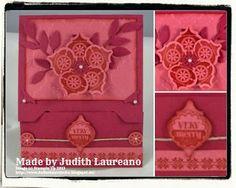 Bella´s Bastelecke: #stampinup 25. Dez. 2013...Envelope Punch Board Gift Card Holder...
