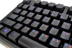 Learning how to type in Dvorak? Check out with keyboard with dual colored Qwerty and Dvorak layouts.wasdkeyboards.com