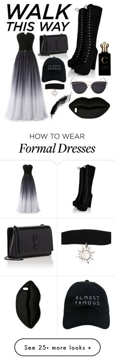 """""""Walk thid way"""" by elsa-pandicorn on Polyvore featuring Yves Saint Laurent, Nasaseasons, STELLA McCARTNEY and Clive Christian"""