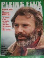 Magazine Pleins Feux de janvier 1972 est prèsque entièrement écrit par Georges Moustaki