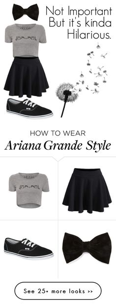"""At Least I Think It's Funny :)"" by colorful-trends on Polyvore"