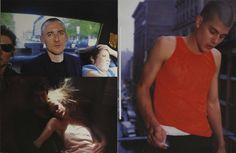 helmut lang by nan goldin visionaire, fall 1996 Nan Goldin, Straight Guys, Helmut Lang, Tank Man, Archive, Portrait, Mens Tops, Fall, Ss