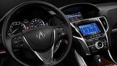 2017 Acura TLX - interior