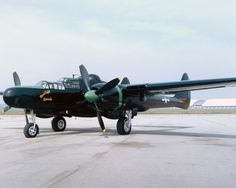 P-61 Black Widow Fighter