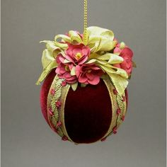 Rosa Fiona Handmade Victorian Christmas Ornament by Towers and Turrets