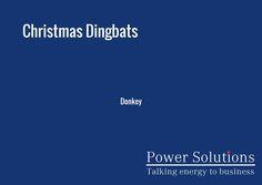 Power Solutions UK - Christmas Dingbat no 17