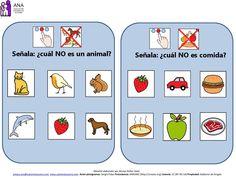 Las fichas adjuntas abajo están elaboradas por Amaya Nuñez, Directora técnica de la Asociación Navarra de Autismo – ANA . Están elaboradas para trabajar la ...