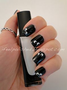 I Feel Polished!: Halloween Nails: Googly Eyes