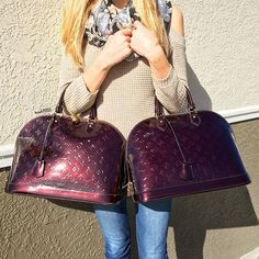 The perfect pair! Shop all Louis Vuitton handbags on www.mymoshposh.com!